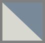 серебристый/голубой с плавными переходами цвета
