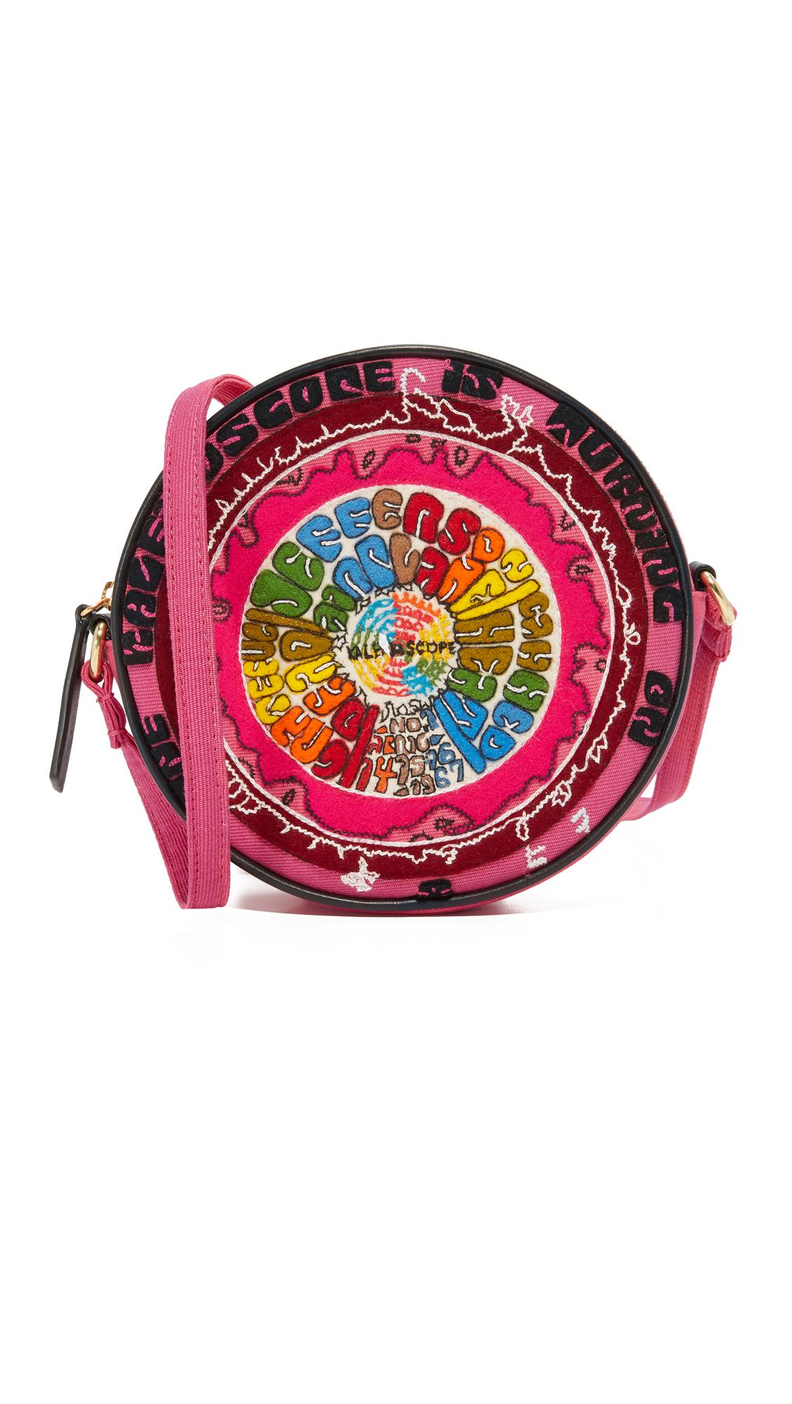 olympia letan female olympia letan the kaleidoscope messenger bag pink