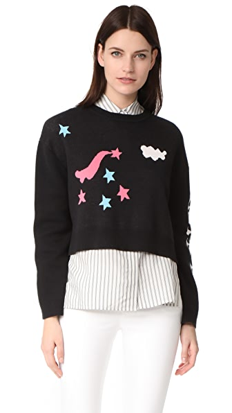 Olympia Le-Tan Griffin Sweater