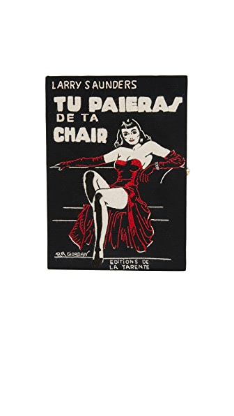 Olympia Le-Tan Chair Book Clutch