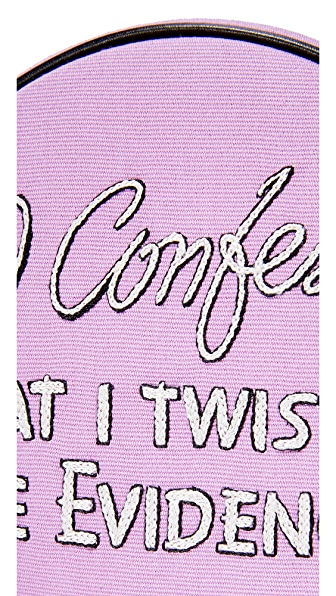 OLYMPIA LE-TAN I Confess Dizzie Cross Body Bag