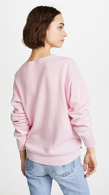 Olympia Le-Tan I Confess Cashmere Sweater