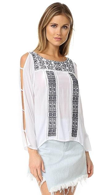 OndadeMar Embroidered Shirt