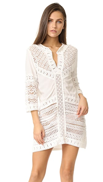 OndadeMar Lace Patchwork Tunic