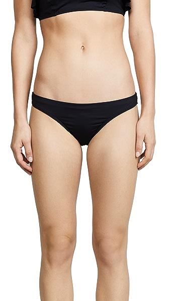 OndadeMar Every Day Low Rise Bikini Bottoms In Black