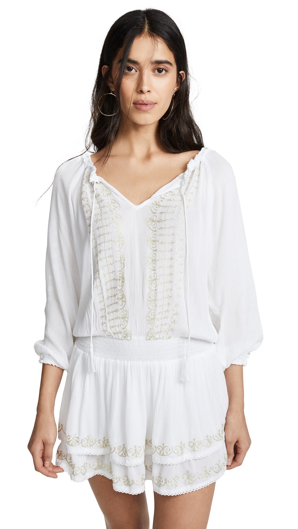 ONDADEMAR Short Dress in White