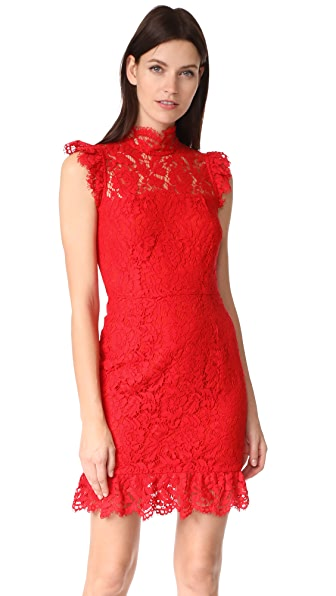 ONE by aijek Into the Night Dress - Red