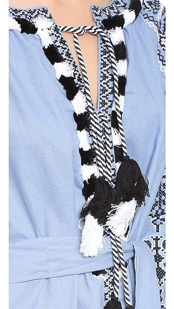 ONE by STYLEKEEPERS Платье с вышивкой