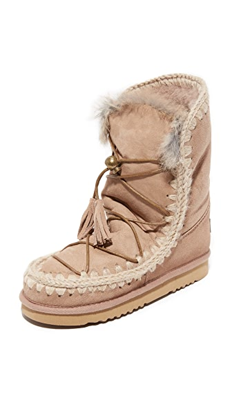 ONE by Mou Eskimo Lace Up Boots - Cam