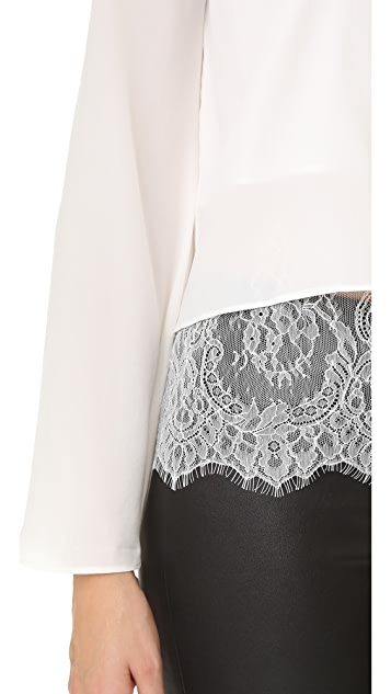 ONE by CAMI NYC The Bell Long Sleeve Blouse