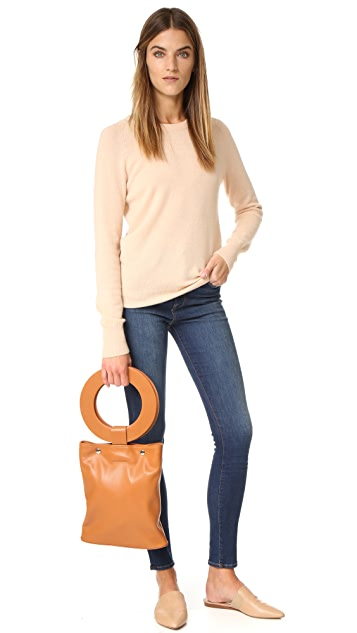 ONE by Modern Weaving Circle Handle Tote