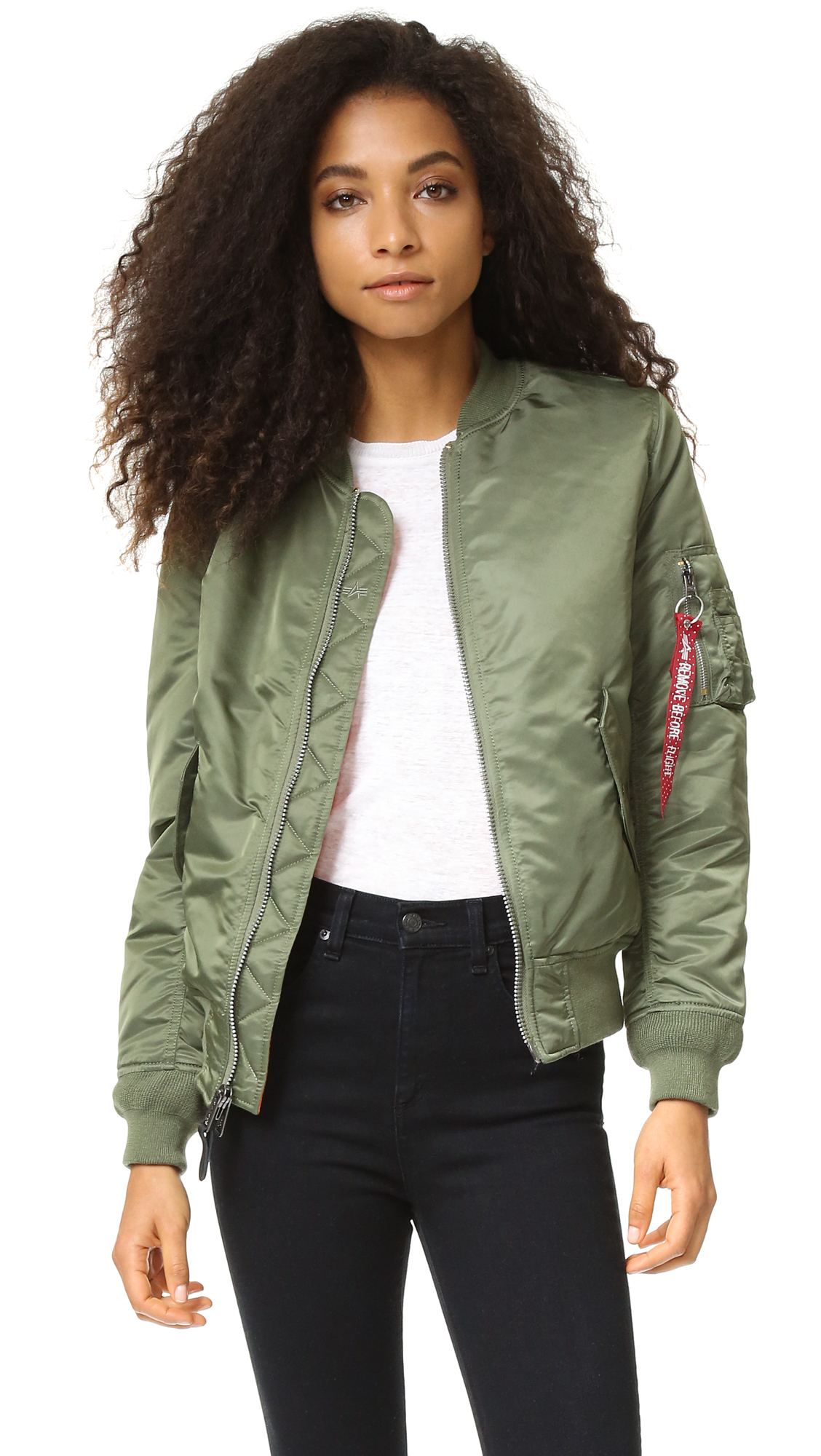 ONE by Alpha Industries Bomber Jacket  05f32febc086