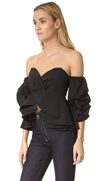 ONE by STYLEKEEPERS Reveal & Conceal Off Shoulder Top