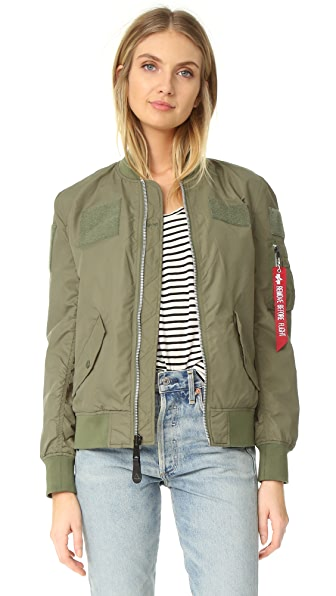 ONE by Alpha Industries Flex Bomber Jacket