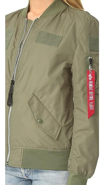 ONE by Alpha Industries Flex Bomber Jacket