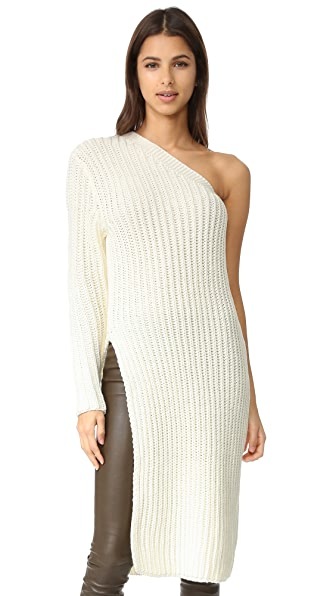 ONE by STYLEKEEPERS Gemma One Shoulder Knit