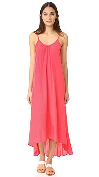ONE by Pink Stitch Макси-платье Resort