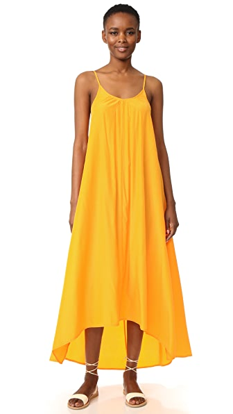 ONE BY One By Resort Maxi Dress in Tangerine