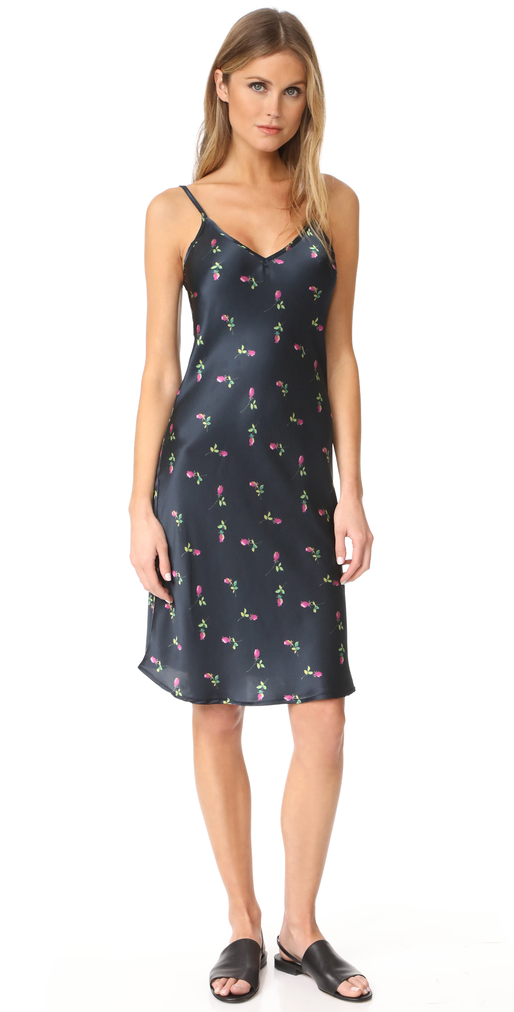 Printed Floral Slip Dress ONE by Unveil Project