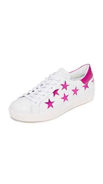 ONE by Dept. of Finery Stella Star Sneakers - Magenta
