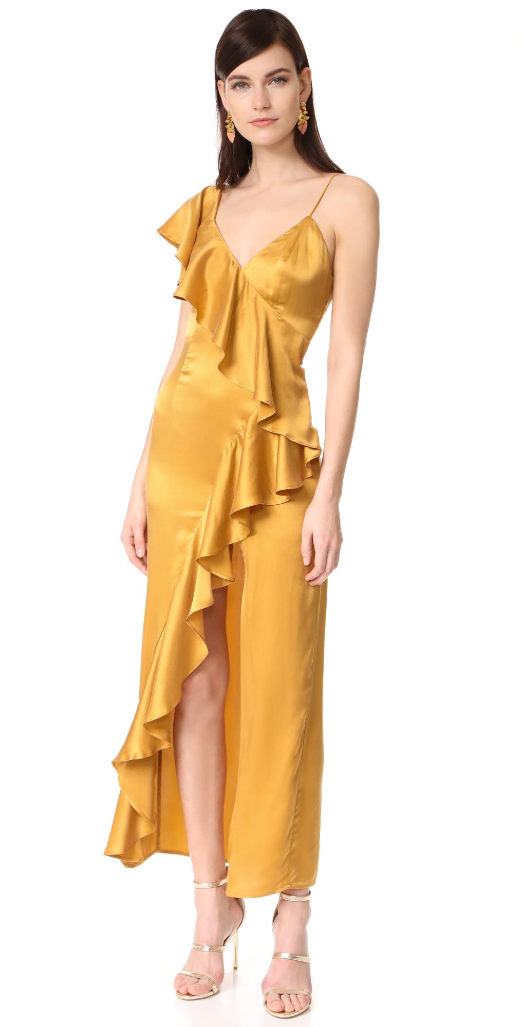 Evita Cascade Ruffle Dress ONE by New Friends Colony