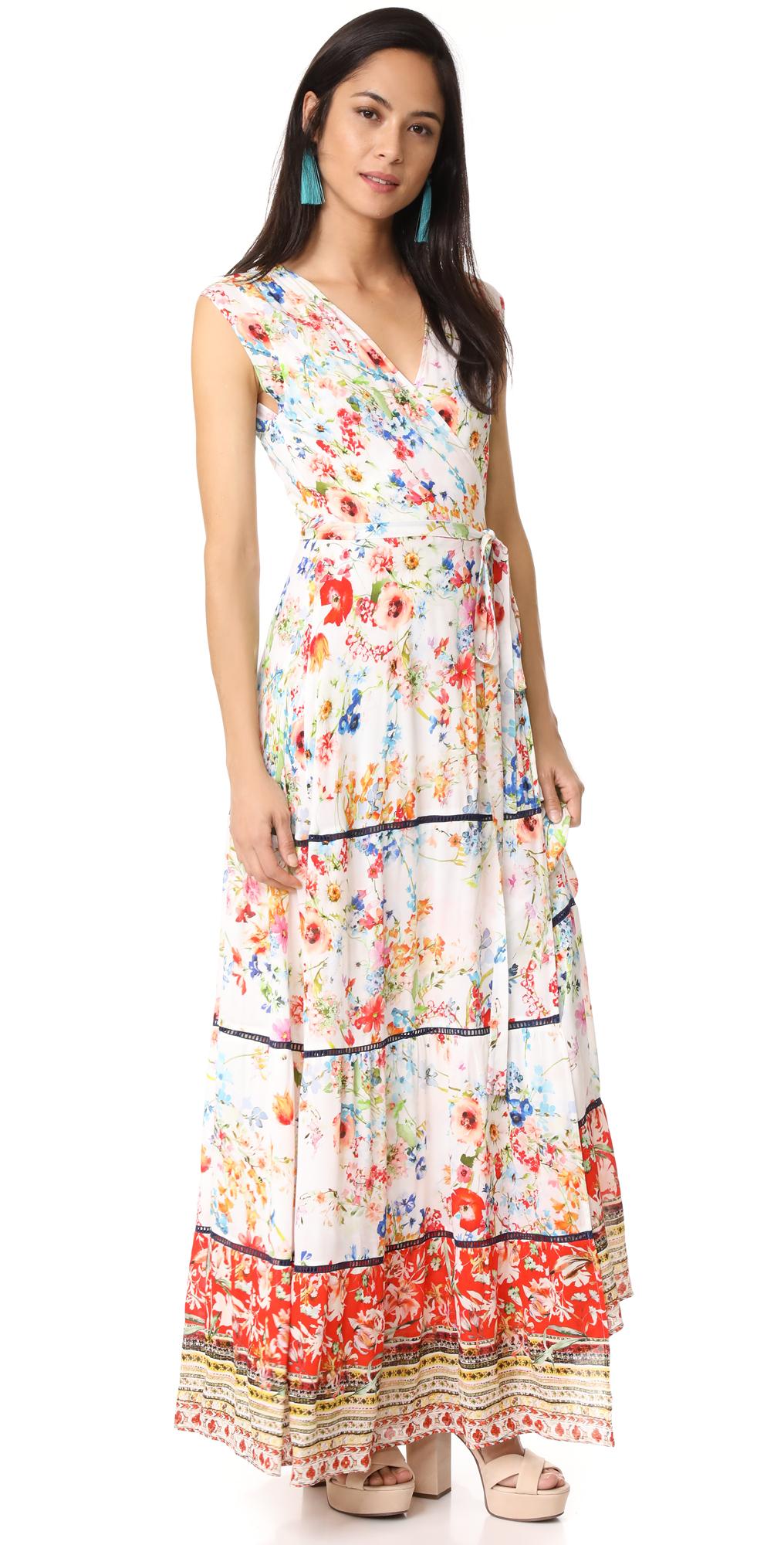 Maxi Wrap Dress ONE by Johanne Beck