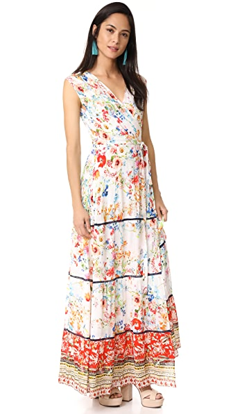 ONE by Maxi Wrap Dress