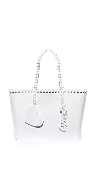 ONE by Seba Mid Tote In White