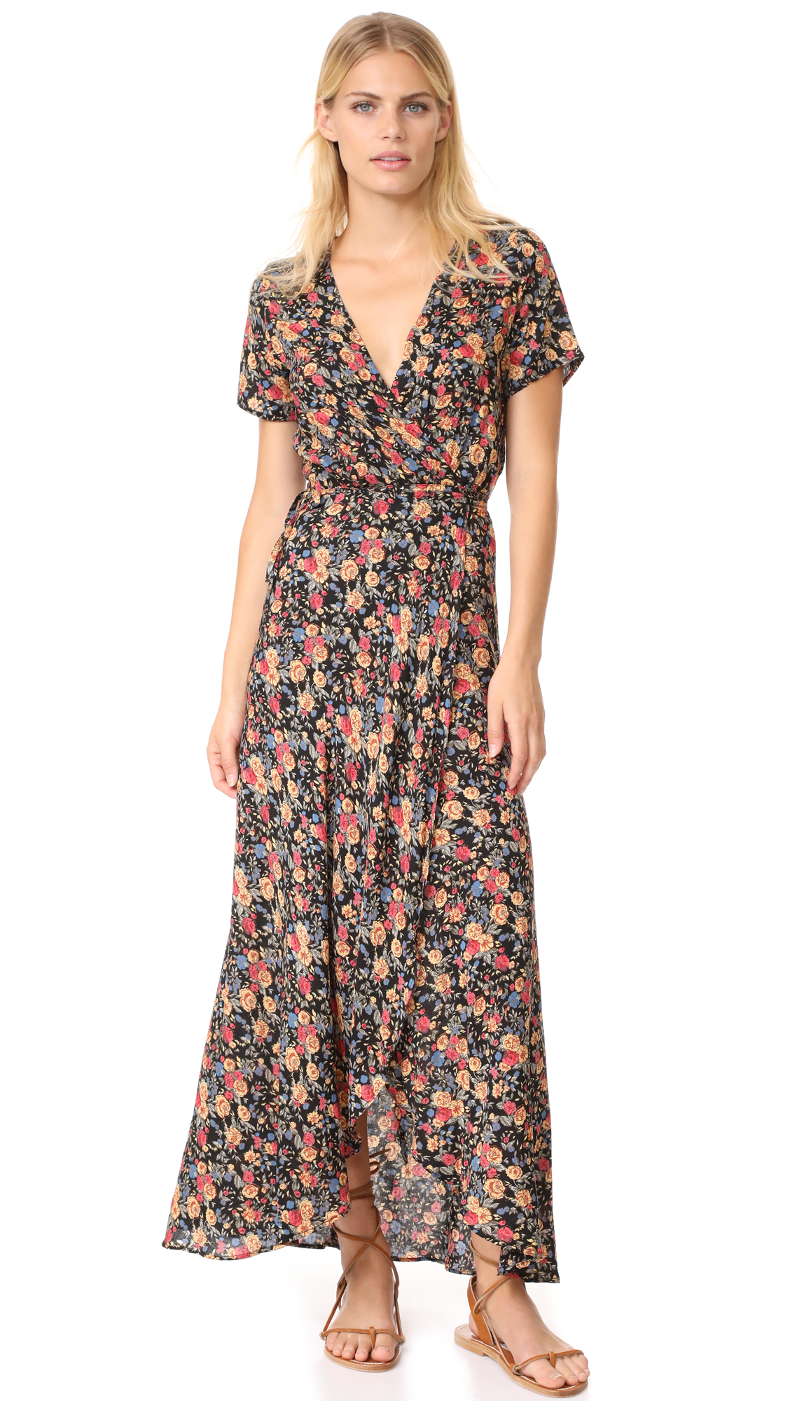 ONE by Wild Rose Maxi Wrap Dress