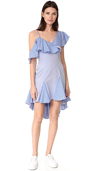 ONE by Daria Off Shoulder Ruffle Dress at Shopbop