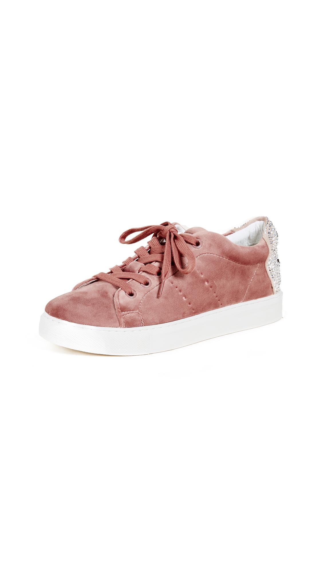 ONE by Smile Velvet Sneakers - Rosa