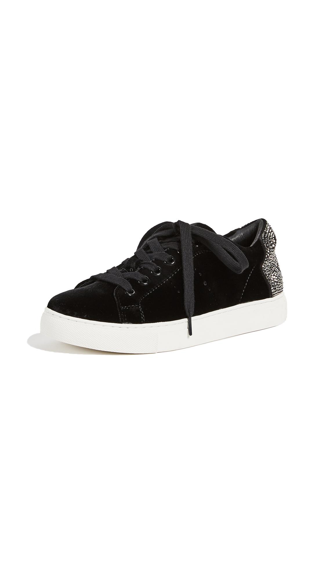 ONE by Smile Velvet Sneakers - Black