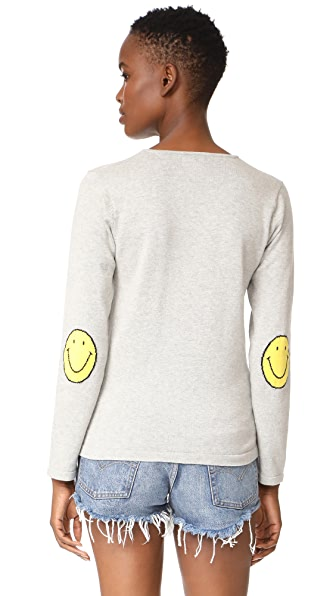 ONE BY One By Smile Sweater in Heather Grey