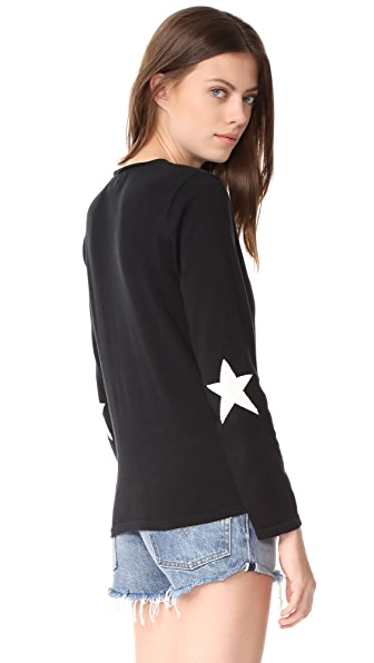 ONE by Star Sweater In Black