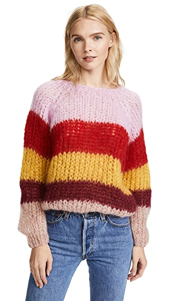 ONE by Striped Sweater