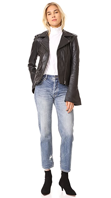 ONE by Understated Leather Understated Leather Moto Jacket