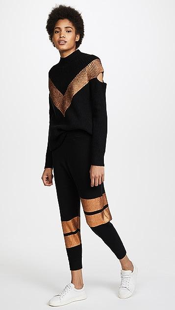 ONE by Zoe Jordan Zoe Jordan Graham & Hitchcock Knit & Trousers Set
