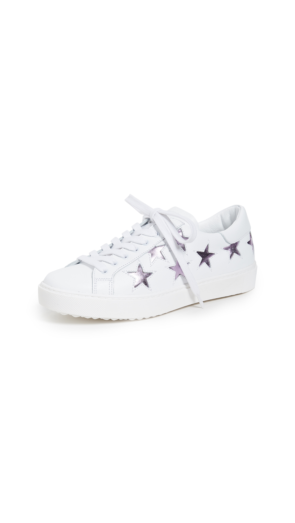 ONE by Stella Star Sneakers - White/Pink Metallic