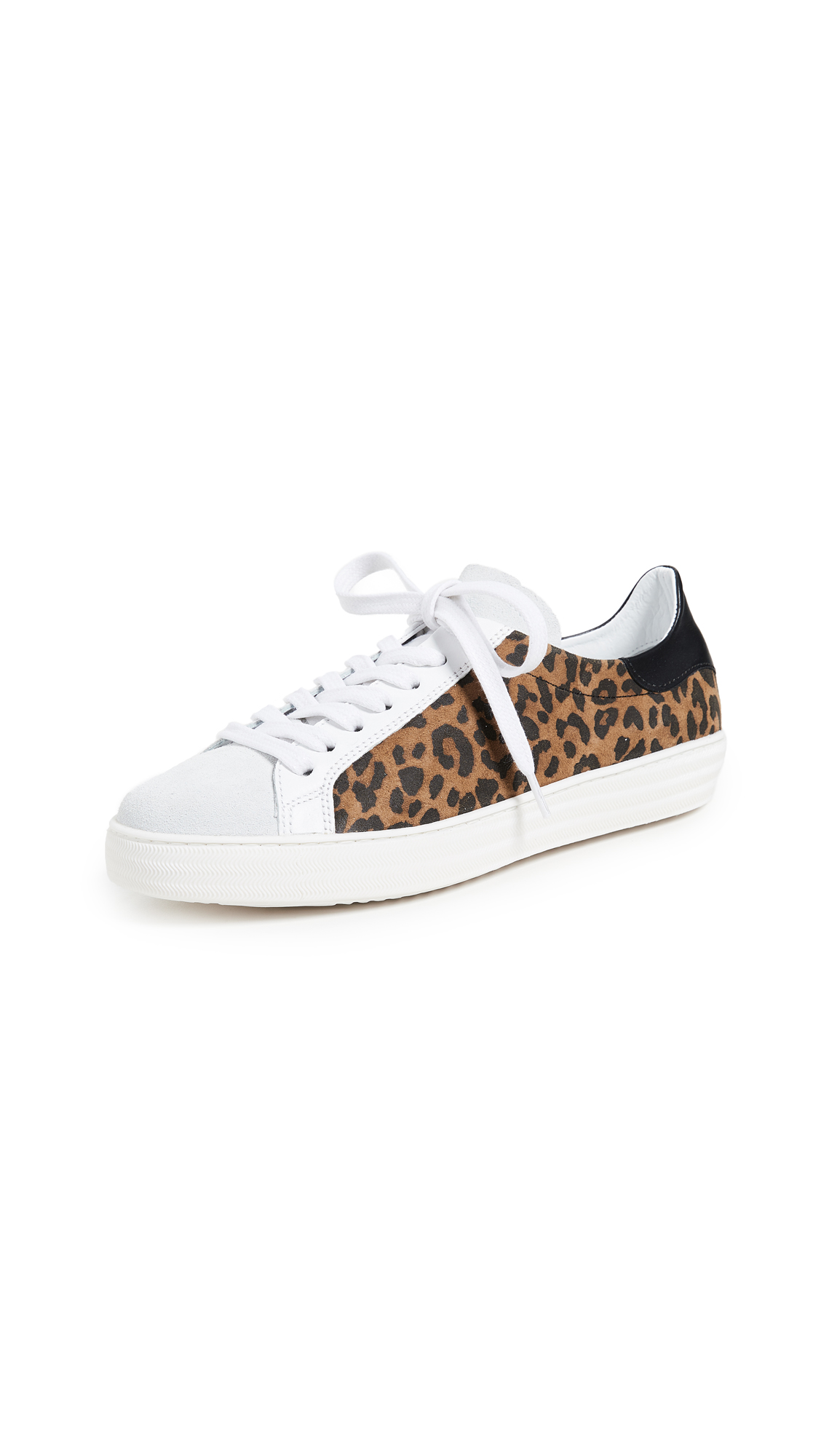 ONE by Indiana Leopard Laceup Sneakers