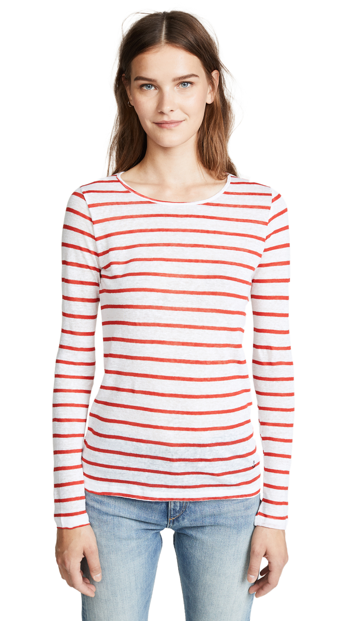 ONE BY STRIPE & STARE ONE BY BRETON JERSEY LONG SLEEVE TEE