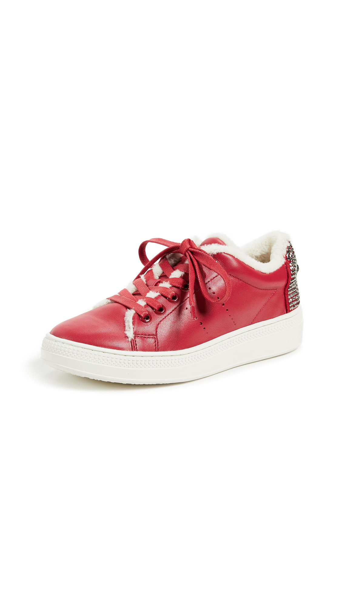 ONE by Lace Up Eye Sneakers - Red