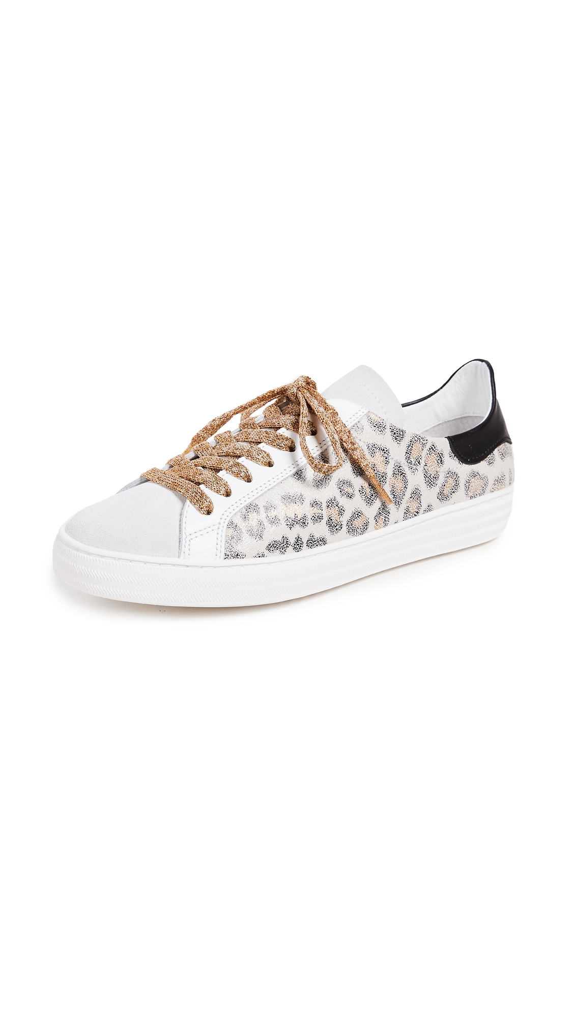 ONE by Laceup Leopard Sneakers
