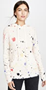 ONE by Threads of PRVLG Cashmere Splatter Hoodie