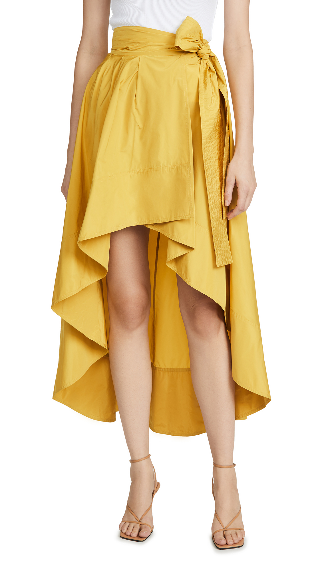 Buy ONE by PINKO online - photo of ONE by Caramella Taffeta Skirt