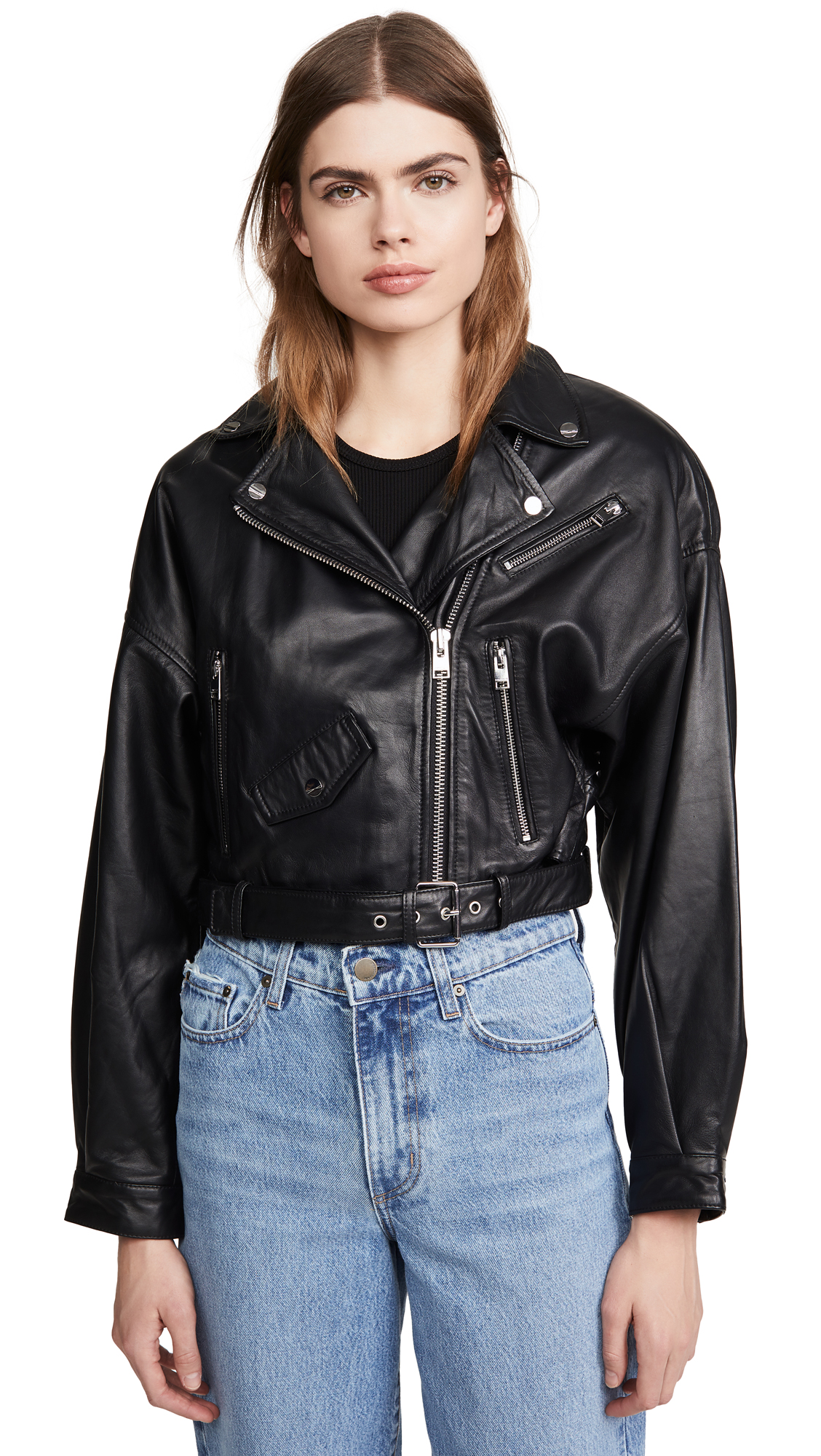 Buy ONE by Dylan Leather Jacket online beautiful ONE by LAMARQUE Clothing, Jackets