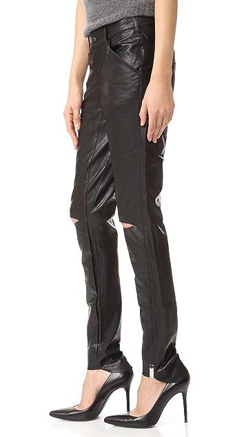 One Teaspoon Apollo Vegan Leather Pants