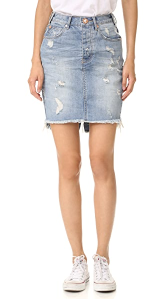 One Teaspoon Wild Lion 2020 Skirt