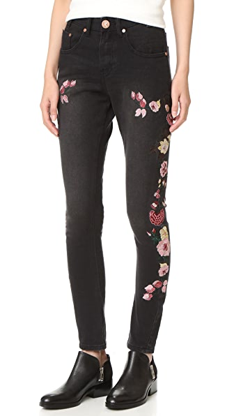 One Teaspoon Birds Of Paradise Scallywags Jeans
