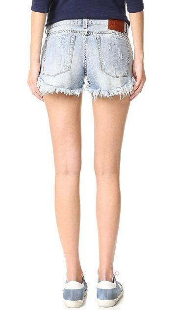 One Teaspoon Lucky Fox Bonita Shorts