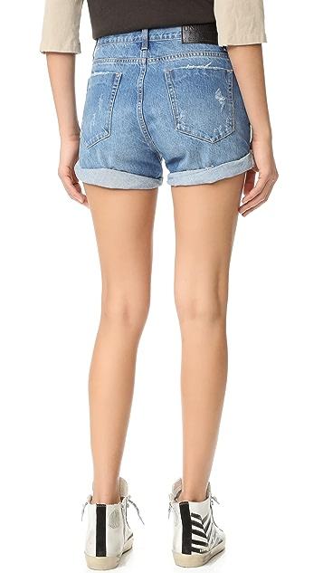 One Teaspoon Salty Sailor Charger Shorts